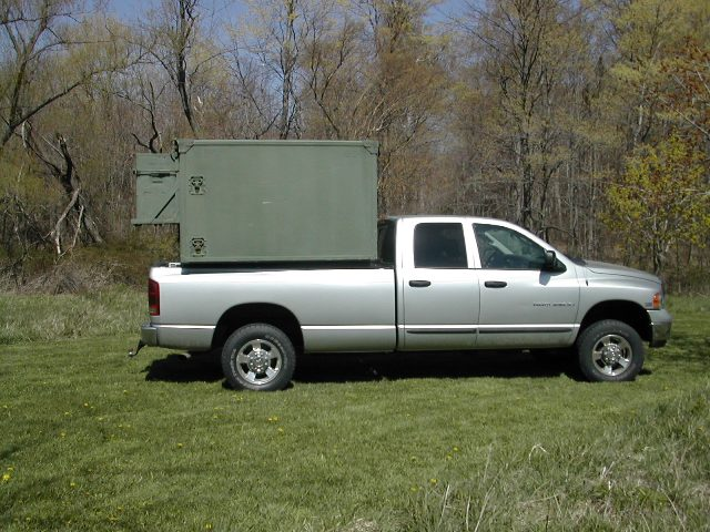 S-250 on Truck